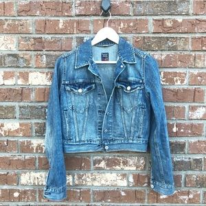 Levi's Jeans Cropped Denim Jacket small